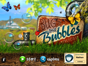 Sept App Bugs & bubbles-home